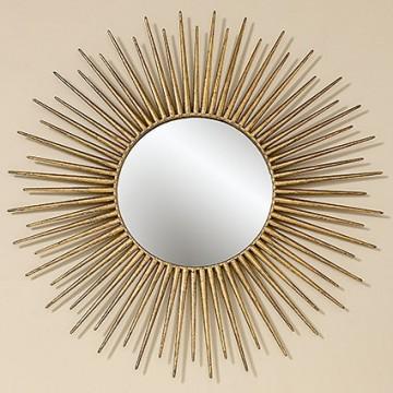 Настенный декор Camo металл золото d75см