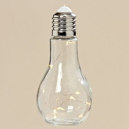 Светодиодная лампа Колба прозрачное стекло h19d9см