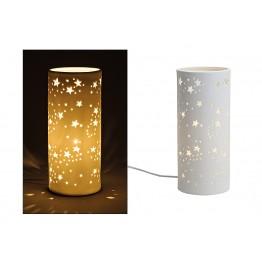 Настольная лампа Звезда керамика 28X12