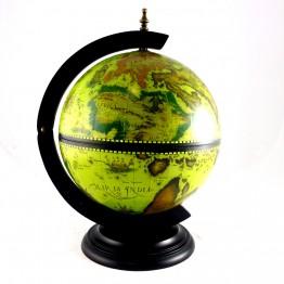 Настольный глобус бар  33см, зеленый