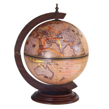Глобус-барс зодиакальными картами, настольный, 33002N