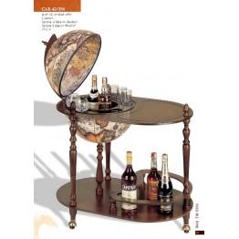 Напольный глобус бар со столом Santelli C42EW