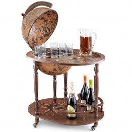 Напольный глобус-бар со столиком Джазон, Zoffoli (Italy)