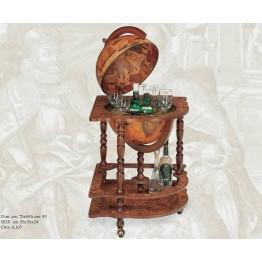 Напольный угловой глобус-бар Zoffoli, art. 39-11_01 (Italy)