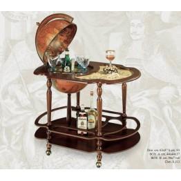 Напольный глобус-бар со столом Zoffoli, art. 56_01 (Italy)