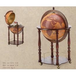 Напольный глобус-бар Zoffoli Gea, art. 822 (Italy)