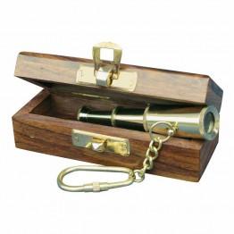 """Брелок для ключей """"Труба-телескоп"""""""