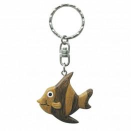 Брелок - рыба, дерево