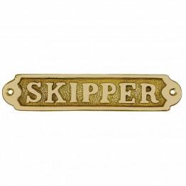Дверная табличка - Шкипер (SKIPPER)