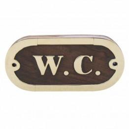 Дверная табличка - W.C.