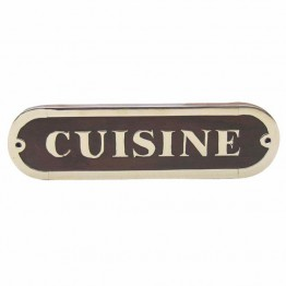 Дверная табличка - CUISINE