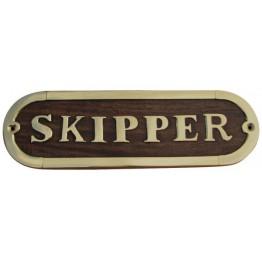 Дверная табличка - SKIPPER