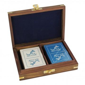 Коробка с игральными картами, арт. 8018
