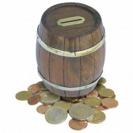 Копилка в виде бочки (Монетный бокс)  11cm