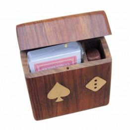 Коробка для карт с крышкой