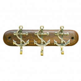 Крючки в морском стиле, ключная вешалка