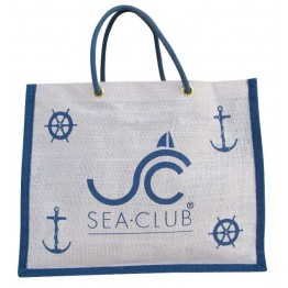 Пляжная сумка корзина в морском стиле SEA-CLUB