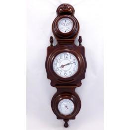 """Часы """"Дипломат"""" барометр/термометр/влагомер"""