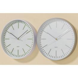 Настенные часы белый полистоун d30см