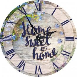 Часы круглые настенные SWEET HOME 34 см.
