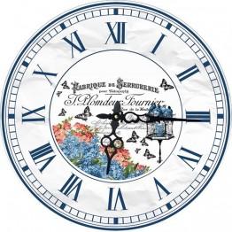 Часы круглые настенные BIRDS 34 см