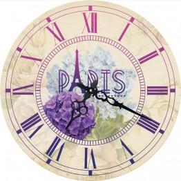 Часы круглые настенные PARIS 60 см