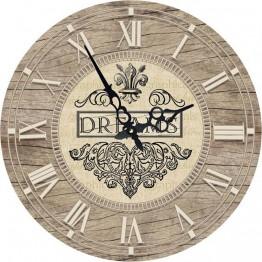 Часы круглые настенные МЕЧТЫ 60 см