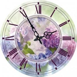 Часы круглые настенные СИРЕНЬ 60 см
