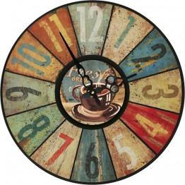 Часы круглые настенные FRESH 60 см