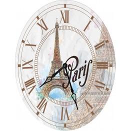 Часы овальные настенные ПАРИЖ 46*60