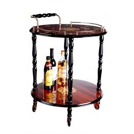 Столик-бар круглый