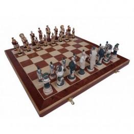 Шахматы СПАРТАК инкрустированные 600*600 мм