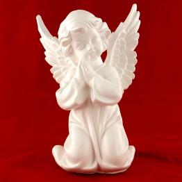 """Фігура """"Ангел в молитві"""" мал. (біл.)"""