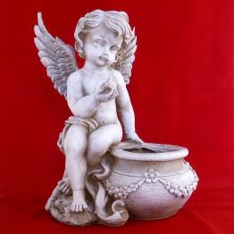 Ангел кашпо