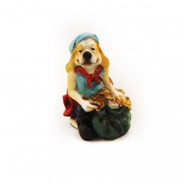 Статуэтка собачки-пираты