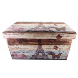 Пуфик Париж 2 прикроватный  с ящиком